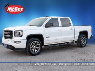 Used 2017 GMC Sierra 1500 SLT Crew 4x4 - 5.3L, Full Feat Bkts, All-Terrain, Sunroof, NAV, 20