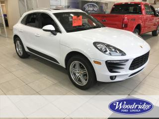 Used 2016 Porsche Macan 3.0L TWIN TURBO, NAVIGATION, SUNROOF, AWD, NO ACCIDENTS. for sale in Calgary, AB