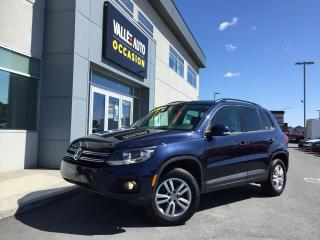 Used 2015 Volkswagen Tiguan 2.0tsi Tl Awd, écran for sale in St-Georges, QC