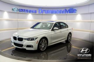 Used 2016 BMW 3 Series 340i X-DRIVE + M-PACK + GARANTIE + NAVI + TOI for sale in Drummondville, QC