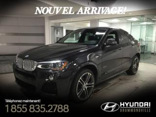 Used 2016 BMW X4 35I X-DRIVE + GARANTIE + M-PACK + NAVI + for sale in Drummondville, QC