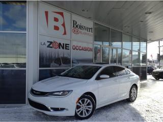 Used 2015 Chrysler 200 Ltd Gps/navi Toit for sale in Blainville, QC