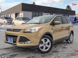 Used 2015 Ford Escape SE,REARVIEW CAM,PWR T/GATE,HEATED SEATS,B.TOOTH for sale in Barrie, ON
