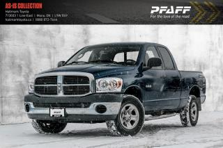 Used 2008 Dodge Ram 1500 ST Quad Cab 4WD for sale in Orangeville, ON