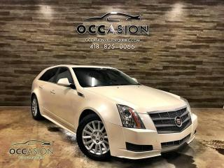 Used 2010 Cadillac CTS Propulsion arrière 3,0 L familiale 5 por for sale in Ste-Brigitte-de-Laval, QC