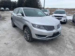 Used 2016 Lincoln MKX Reserve for sale in Waterloo, ON
