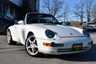 Used 1996 Porsche 911 Carrera 6SPEED - AIRCOOLED - CARPROOF CLEAN for sale in Oakville, ON