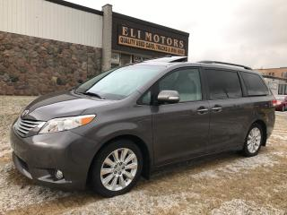 Used 2013 Toyota Sienna LIMITED.SUNROOF.TV-DVD.NAVIGATION.REAR CAMERA. for sale in North York, ON