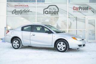 Used 2007 Saturn 4DR COUPÉ ION.2 ***JAMAIS ACCIDENTÉ*** for sale in Québec, QC