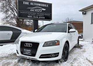 Used 2012 Audi A3 2.0T PANO ROOF LEATHER NO ACCIDENT for sale in Mississauga, ON