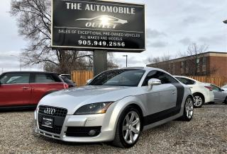 Used 2008 Audi TT 2.0T COUPE LEATHER NO ACCIDENT for sale in Mississauga, ON