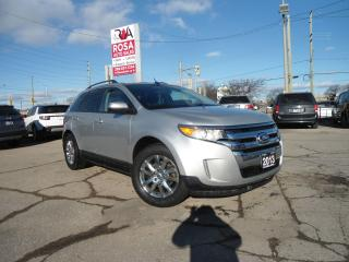 Used 2013 Ford Edge AUTO LOW KM NO ACCIDENT BACK CAM B-TOOTH SAFETY PW for sale in Oakville, ON