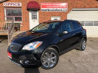 Used 2013 Buick Encore CXL AWD Leather Sunroof Back Up Cam Bluetooth for sale in Bowmanville, ON
