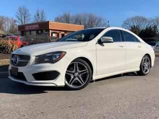 Used 2016 Mercedes-Benz CLA-Class CLA 250AMG PKG-NAVI-BLIND SPOT MONITOR-BACKUP CAM for sale in Mississauga, ON