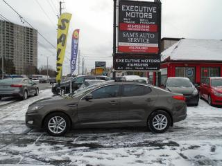 Used 2012 Kia Optima LX+/ BLUETOOTH / ALLOYS / SUNROOF / NEW BRAKES for sale in Scarborough, ON
