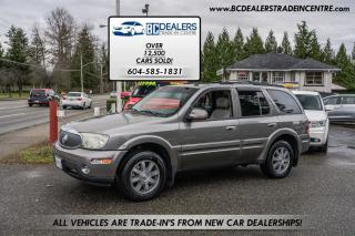 Used 2005 Buick Rainier CXL, 5.3L VORTEC V8, Local, No Accidents, Rare! for sale in Surrey, BC