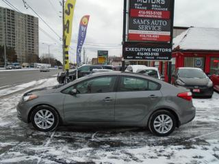 Used 2014 Kia Forte LX+/ BLUETOOTH / ALLOYS / SUNROOF / NEW BRAKES / for sale in Scarborough, ON