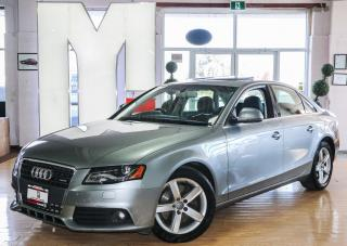 Used 2009 Audi A4 2.0T Premium - NAVIGATION|BACKUP CAM|SUNROOF for sale in North York, ON