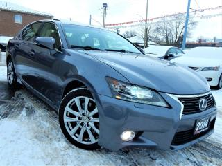 Used 2014 Lexus GS 350 AWD | NAVIGATION.CAMERA.BSM | BROWN LEATHER.ROOF for sale in Kitchener, ON