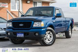 Used 2008 Ford Ranger FX4 4.0L 4X4 AUTO 4DR CERTIFIED SERVICED SPOTLESS for sale in Bolton, ON