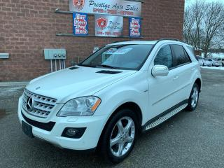 Used 2009 Mercedes-Benz ML 320 DIESEL/3L/AWD/CERTIFIED/WARRANTY INCL for sale in Cambridge, ON