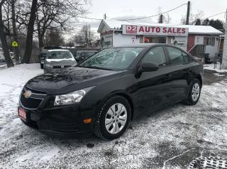 Used 2014 Chevrolet Cruze Certified/Automatic/Bluetooth/Remote Stater for sale in Scarborough, ON