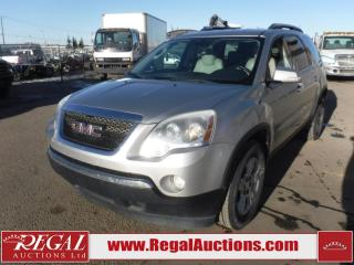 Used 2008 GMC Acadia SLT 4D Utility FWD 3.6L for sale in Calgary, AB