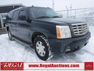 Used 2003 Cadillac Escalade ESV 4D Utility AWD for sale in Calgary, AB