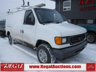 Used 2006 Ford E250 Vans Econoline 4D Cargo VAN for sale in Calgary, AB