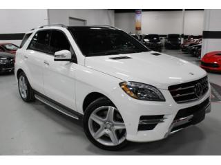 Used 2015 Mercedes-Benz ML-Class ML400 AMG   4-MATIC   FULLY EQUIPPED for sale in Vaughan, ON