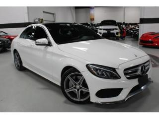 Used 2016 Mercedes-Benz C-Class 300 4-MATIC AMG   FULLY LOADED for sale in Vaughan, ON