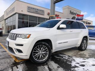 Used 2018 Jeep Grand Cherokee Summit l V-6 l Platinum Appearance PKG l for sale in Burlington, ON