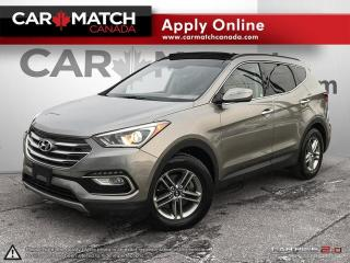 Used 2017 Hyundai Santa Fe Sport 2.4 SE / LEATHER / SUNROOF / AWD for sale in Cambridge, ON