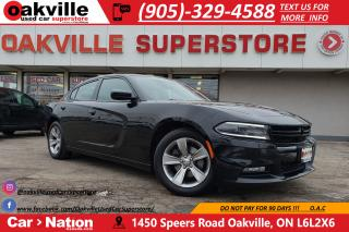 Used 2015 Dodge Charger SXT | HTD SEATS | UCONNECT  | REMOTESTART | BT for sale in Oakville, ON