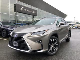 Used 2017 Lexus RX 450h Exec PKG, Certified, NO Accidents, Local, LOW KM!! for sale in North Vancouver, BC
