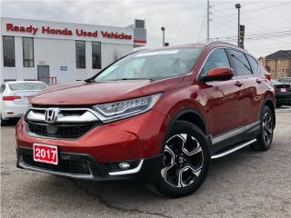 Used 2017 Honda CR-V Touring | Navigation | Pano Roof | Leather for sale in Mississauga, ON