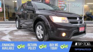Used 2012 Dodge Journey SXT ** 7 Passenger, 3.6L V6, New Tires ** for sale in Bowmanville, ON