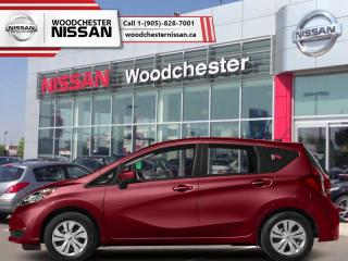 New 2019 Nissan Versa Note SV CVT  - Heated Seats - $132.26 B/W for sale in Mississauga, ON