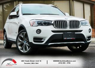 Used 2015 BMW X3 xDrive28i|Heated Seats|Sunroof|Backup Camera|Parking Sensor for sale in Toronto, ON
