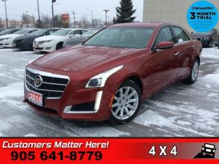 Used 2014 Cadillac CTS Base  CUE NAV HS 2X-P/SEATS MEM PARK-SENS REMOTE for sale in St. Catharines, ON