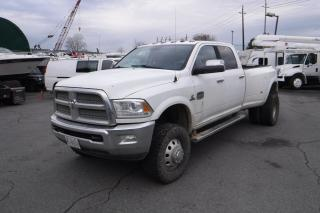Used 2014 Dodge Ram 3500 Laramie Longhorn Crew Cab Long Box Dually Diesel 4WD for sale in Burnaby, BC