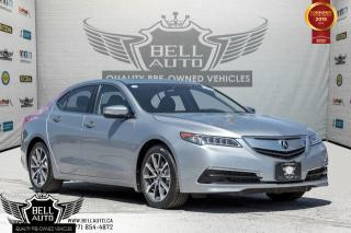 Used 2015 Acura TLX V6 Tech, SH-AWD, NAVI, BACK-UP CAM, LEATHER, MOONROOF for sale in Toronto, ON