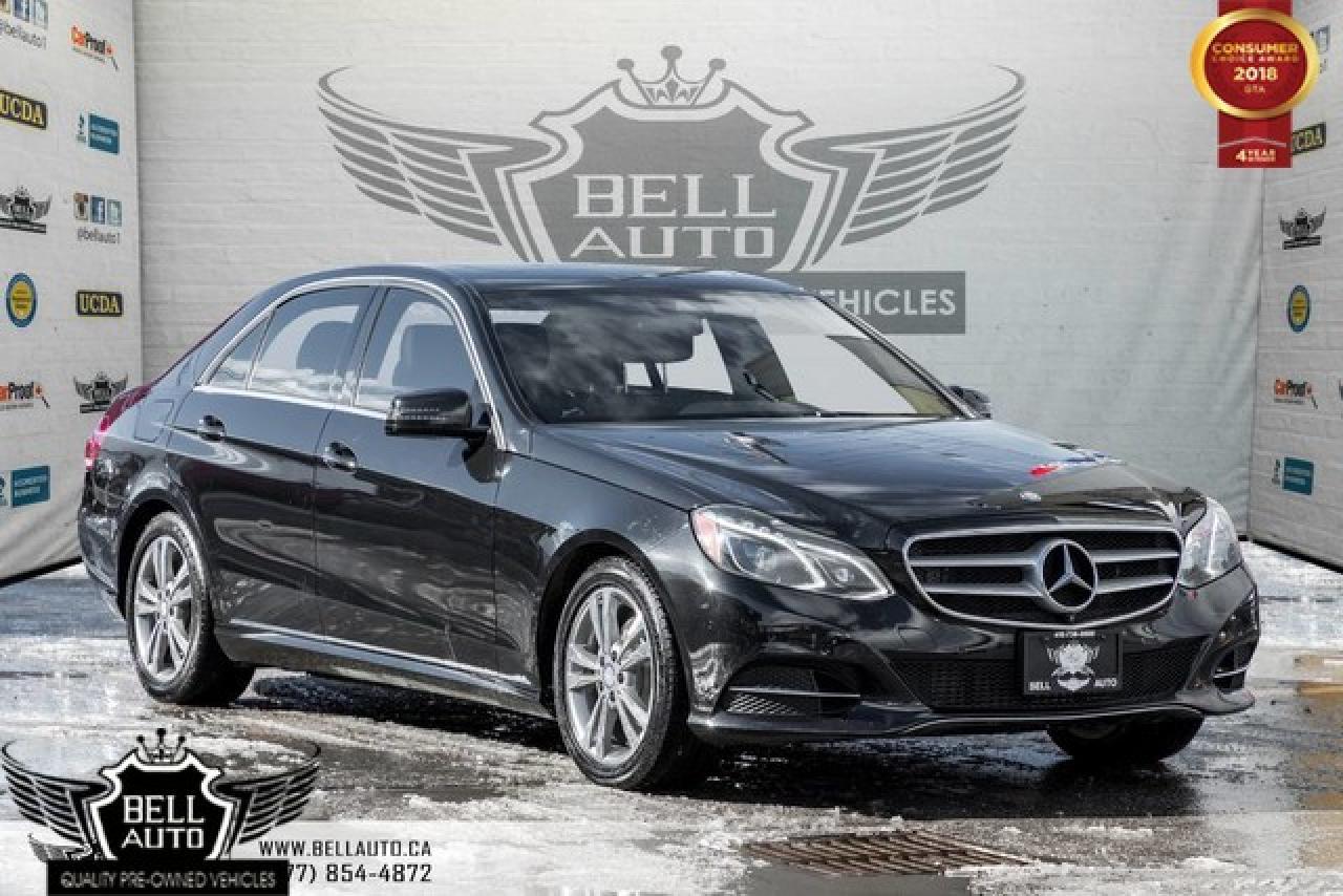 2014 Mercedes-Benz E-Class AWD, LANE ASSIST, PANO, BLIND SPOT, NAVI, BACK-UP CAM, LEATHER