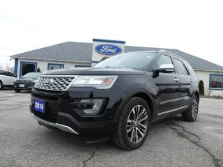 Used 2016 Ford Explorer Platinum for sale in Essex, ON