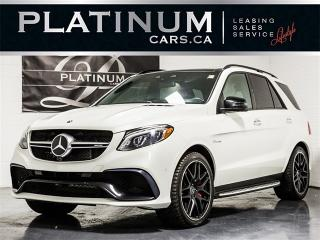 Used 2016 Mercedes-Benz GLE63 S-MODEL AMG, NAVI, 360 CAM, Carbon Trim for sale in Toronto, ON