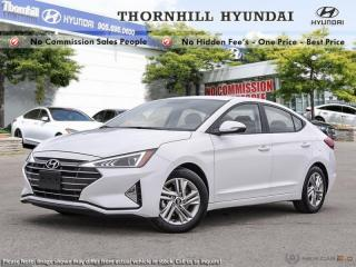 New 2019 Hyundai Elantra Preferred  AT  - Heated Seats for sale in Thornhill, ON