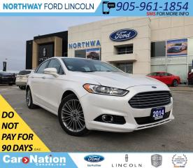 Used 2014 Ford Fusion Titanium | AWD | SUNROOF | LEATHER | NAV for sale in Brantford, ON