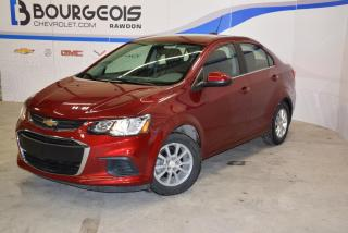 Used 2017 Chevrolet Sonic LT for sale in Rawdon, QC