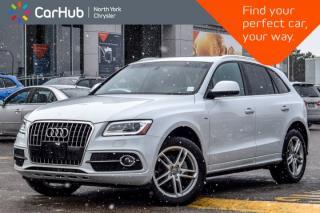 Used 2016 Audi Q5 2.0T Technik|AWD|Pano_Sunroof|Backup Cam|Nav|Keyless_Entry|19