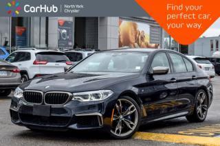 Used 2018 BMW 5 Series M550i xDrive|AWD|Sunroof|Nav|Backup Cam|Keyless_Entry|20